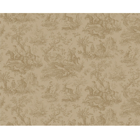 Hunting Toile Ombre Panel - DebbieMcKeegan - Wallpaper - 3