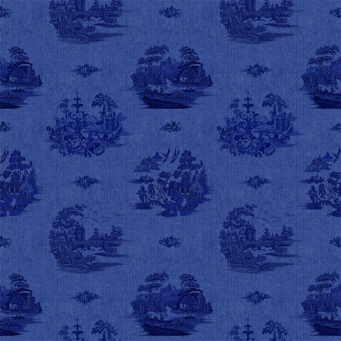 Willow Denim Indigo - DebbieMcKeegan - Wallpaper - 2