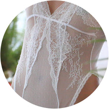 Load image into Gallery viewer, Bespoke Christine Bodysuit (color: white)