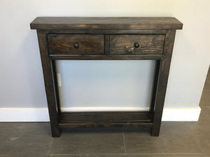 Faux Drawer Console Table