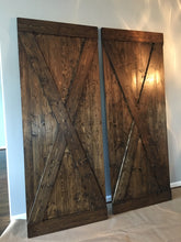 Load image into Gallery viewer, X Barn Door