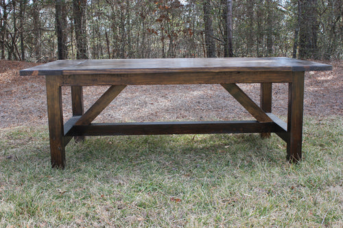 Truss Beam Dining Table