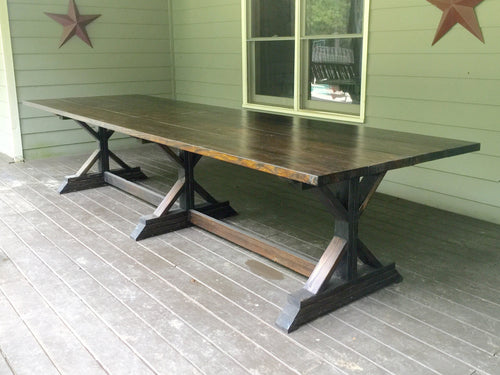 Triple X Dining Table