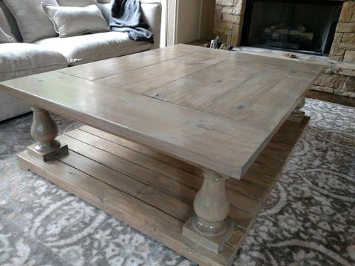 Hand Turned Coffee Table