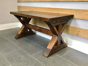 Double X Coffee Table