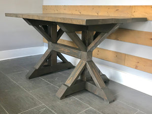 Chunky K Dining Table