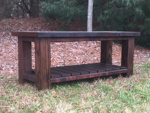 Entry Way Storage Bench
