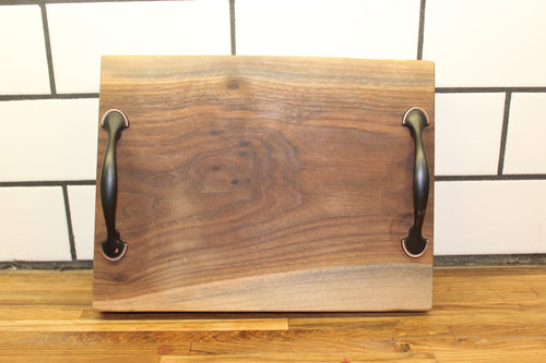 Small Walnut Serving Tray