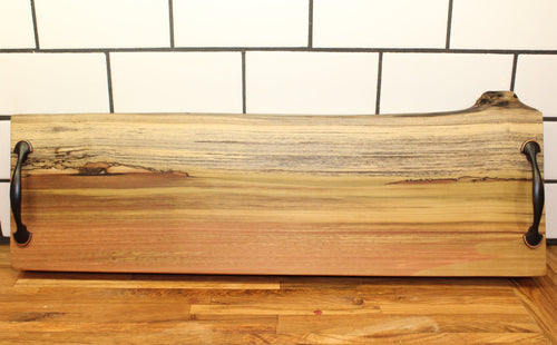 Extra Large Ambrosia Maple Serving Tray