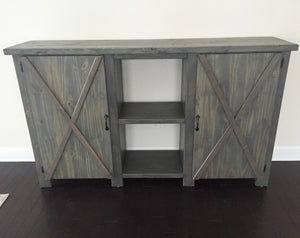 Double Door Buffet Table