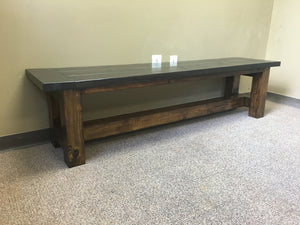 Truss Beam Bench