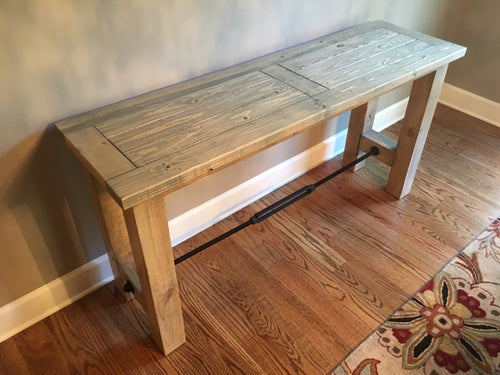 Turnbuckle Console Table