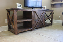 Load image into Gallery viewer, Barn Door Console Table