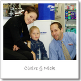 Claire and Nick Wallis Ahuriri Pharmacy Napier New Zealand
