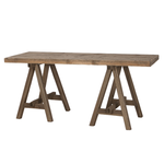 ONE WORLD Fir Wood A-Frame Desk