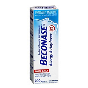 BECONASE Hayfever Nasal Spray 50mcg 200dose
