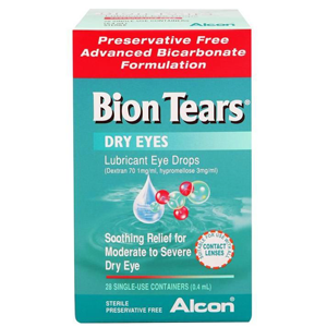 BION TEARS Eye Drops 0.4ml 28