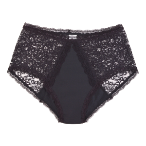 CONFITEX Light Absorbency Full Brief Lace Black