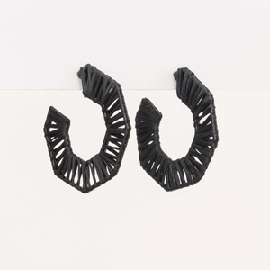 STELLA & GEMMA Earrings Corfu Black
