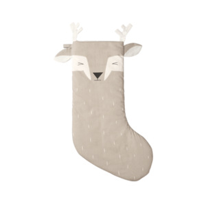 CRAVE Christmas Stocking Fawn/Deer Beige