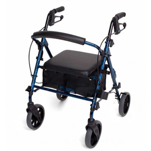 CUBRO Walking Frame Mobilis Plus - Flame Blue