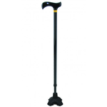 CUBRO Walking Stick with T-handle and Free Standing Stability Foot
