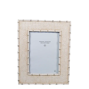 FRENCH COUNTRY Dermont White Wash Photo Frame 4X6