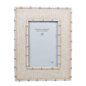 FRENCH COUNTRY Dermont White Wash Photo Frame 5X7