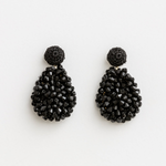 STELLA & GEMMA Earrings Crochet Black