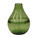 CC INTERIORS Emerald Green Handblown Glass Vase