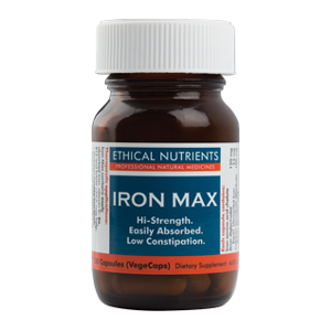 ETHICAL NUTRIENTS Iron Max 30 Caps