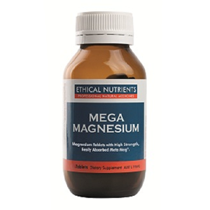 ETHICAL NUTRIENTS Mega Magnesium Tabs 120