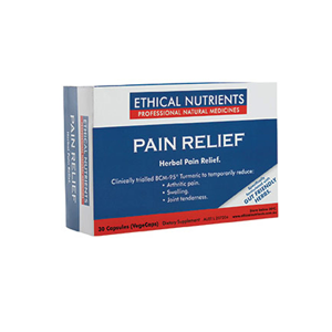 ETHICAL NUTRIENTS Pain Relief Caps 30
