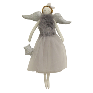 FRENCH COUNTRY Ella Hanging Angel Grey Small