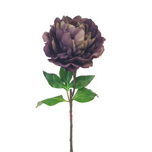 FLOWER SYSTEMS Elsa Peony Spray Purple/Green