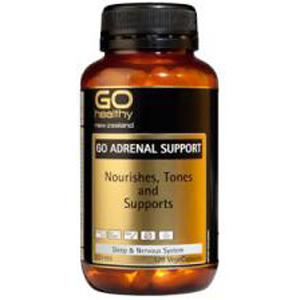 GO HEALTHY Adrenal Support 120 Vcaps