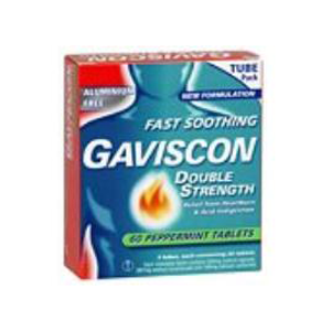 GAVISCON Double Strength Tabs 60