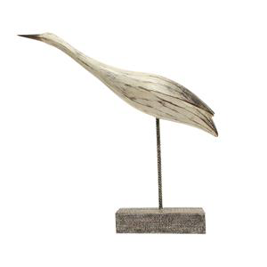 FRENCH COUNTRY Gliding Heron Decor Large