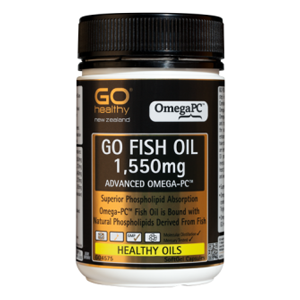 GO HEALTHY Fish Oil 1550mg Advanced Omega PC 80