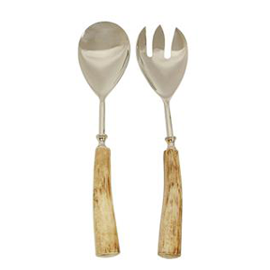 FRENCH COUNTRY Hara Natural Salad Servers