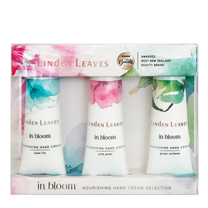LINDEN LEAVES In Bloom Hand Cream Selection Set