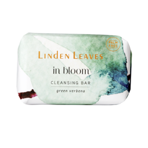 LINDEN LEAVES In Bloom Green Verbena Cleansing Bar 100g