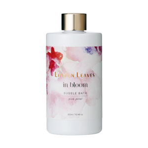 LINDEN LEAVES In Bloom Pink Petal Bubble Bath 300ml