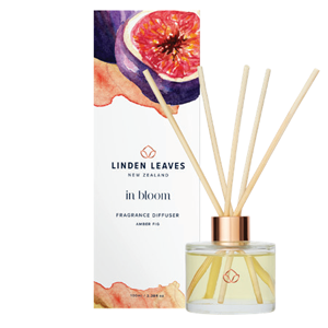 LINDEN LEAVES In Bloom Amber Fig Fragrance Diffuser 100ml