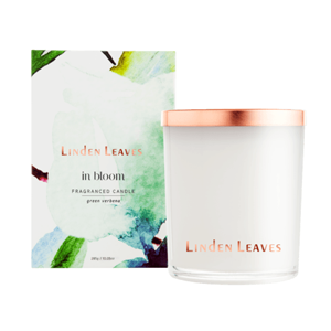 LINDEN LEAVES In Bloom Green Verbena Fragranced Candle
