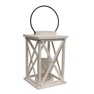 FRENCH COUNTRY Lodge White Lantern Large