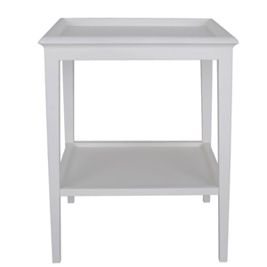 LE MONDE Island Life Lamp Table White