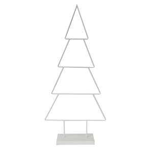 LE FORGE Metal Classic Tree White 110cm