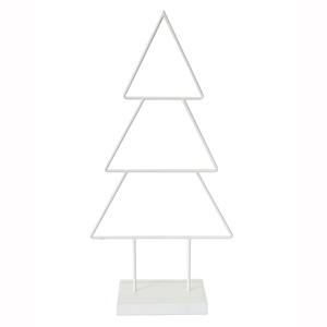 LE FORGE Metal Classic Tree White 77cm