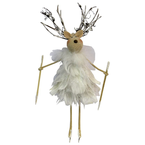 LE FORGE Feather Reindeer Hanger